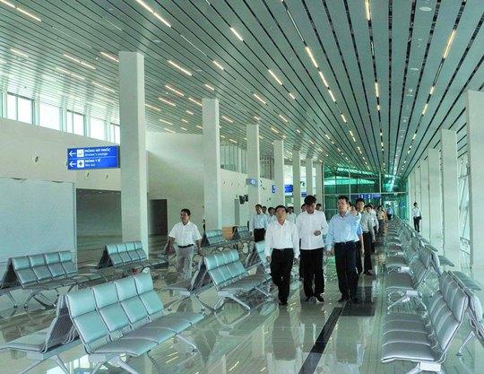 Cảng Hàng không quốc tế Phú Quốc đã được Tập đoàn T&T ngỏ ý xin đầu tư Ảnh: THỐT NỐT