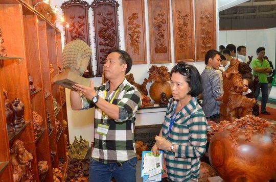 Xuất khẩu đồ gỗ là thế mạnh của Việt Nam nhưng hơn 50% kim ngạch hiện thuộc về doanh nghiệp FDI Ảnh: TẤN THẠNH