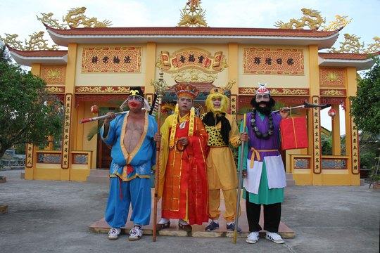Tái hiện hình ảnh của thầy trò Đường Tăng trong truyện Tây Du Ký