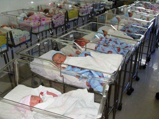 Những em bé được sinh ra tại BV Phụ sản Từ DũẢnh: Anh Thư