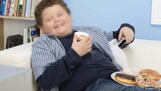 Béo phì lúc trẻ có nguy cơ bị khối u ở ruột về sau cao gấp 2,38 lần so với thanh thiếu niên bình thường Ảnh: BBC