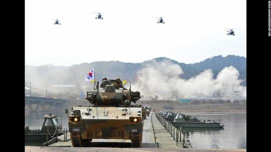 Hàn Quốc chuẩn bị tập trận và Triều Tiên lên tiếng đe dọa