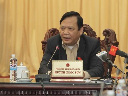 Phó Chủ tịch Quốc hội Huỳnh Ngọc Sơn. (Ảnh: Phương Hoa/TTXVN)