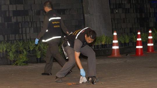 Cảnh sát đang tiến hành điều tra tại hiện trường. Ảnh: AAP