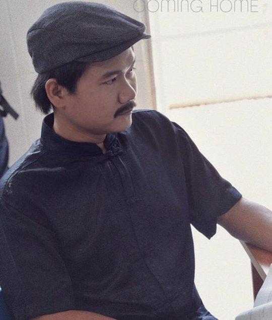 Diễn viên Thanh Tuấn trong vai người cha