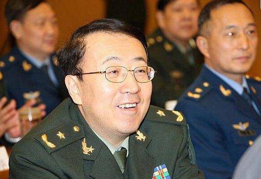 Phó Chính ủy Quân khu Lan Châu Phạm Trường Bí Ảnh: TÂN HOA XÃ