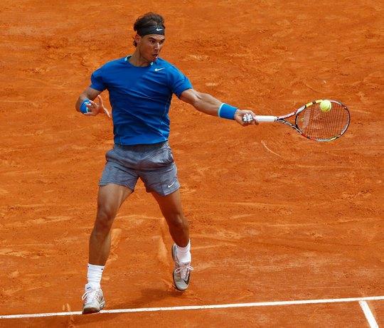 R. Nadal hy vọng sẽ lấy lại phẩm chất của nhà vô địch khi mùa giải sân đất nện ở châu Âu khởi tranh  tại Monaco (Pháp) Ảnh: REUTERS
