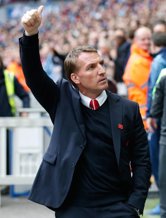HLV Rodgers tin chắc sẽ tiếp tục được dẫn dắt Liverpool nhưng trong bóng đá, không có gì là chắc chắn Ảnh: REUTERS