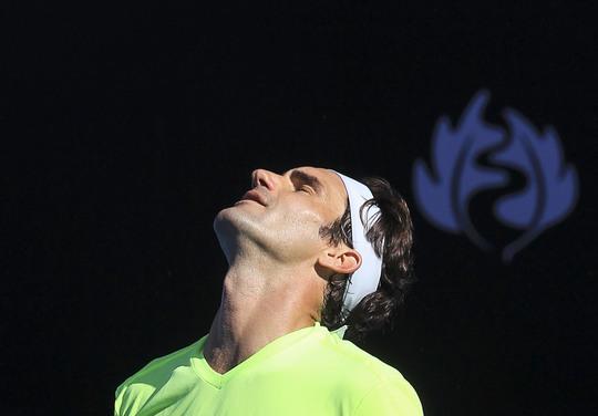 Lần đầu tiên sau 13 năm, Federer mới bị loại sớm đến thế ở Melbourne Ảnh: REUTERS