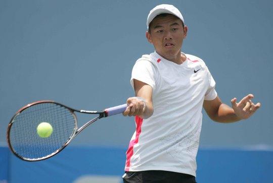 Lý Hoàng Nam đang có phong độ ấn tượng ở các giải trẻ của ITF