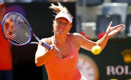 Với Serena không có thể lực tốt nhất, Sharapova có cơ hội tốt bảo vệ chức vô địch Ảnh: REUTERS
