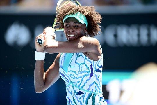 Venus Williams trở lại mạnh mẽ tại giải Úc mở rộng 2015 Ảnh: REUTERS