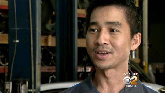 Triệu phú hụt Hung Nguyen Ảnh: CBSLA.COM