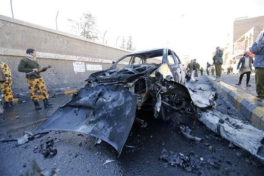 Tình hình ở Yemen đang bất ổn, các cuộc không kích vẫn diễn ra. Ảnh: Reuters
