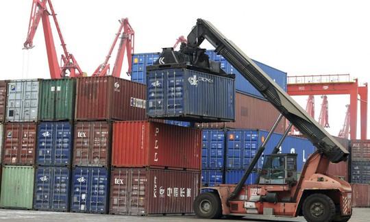 Kim ngạch xuất khẩu của Trung Quốc giảm trong tháng 3-2015 Ảnh: AP