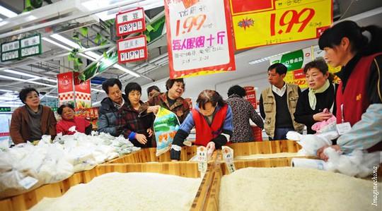 Người dân Trung Quốc tiêu thụ gạo nhiều nhất thế giới  Ảnh: CHINA ECONOMIC REVIEW