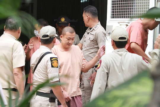 Các em trai của cựu vương phi Thái Lan nhận mức án 5 năm 6 tháng tù giam. Ảnh: Bangkok Post