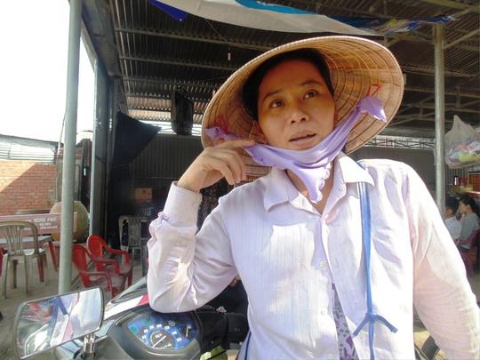 """Chị Lê Thị Thắm: """"Tôi mong ông Thanh hết bệnh…""""."""