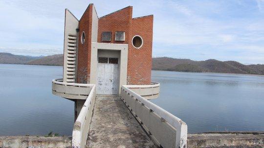 Hồ sông Quao, nơi xảy ra vụ án mạng