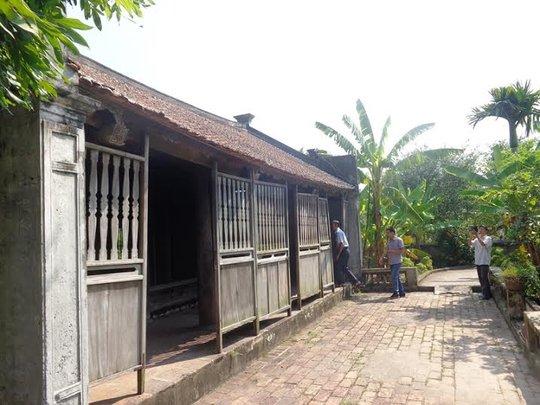 Trải qua hơn 100, ngôi nhà vẫn còn nguyên vẹn nét xưa