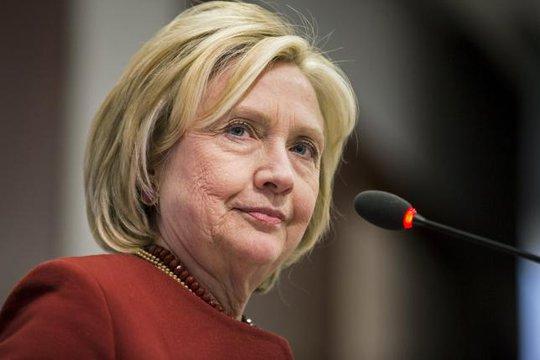ứng cử viên Đảng Dân chủ, bà Hillary Clinton. Ảnh: Reuters