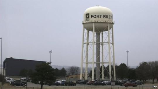 Căn cứ quân sự Fort Riley ở bang Kansas. Ảnh:
