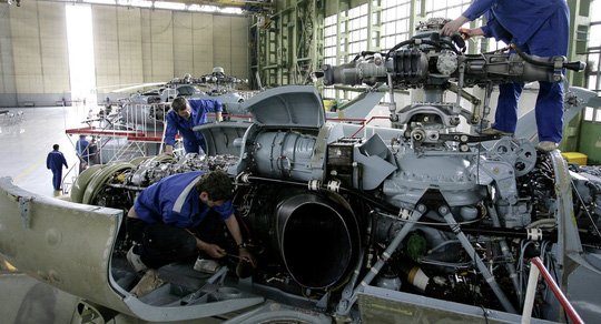 Nga đang dốc sức chế tạo một máy bay trực thăng thương mại thế hệ mới. Ảnh: Sputnik