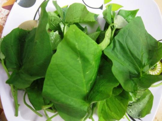 Ốc chặt nấu rau khoai: Món ăn ngọt mát ngày hè