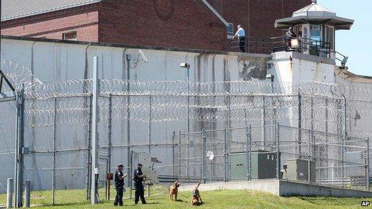 Nhà tù Clinton Correctional Facility thuộc thị trấn Dannemora, quận Clinton, bang New York – Mỹ. Ảnh: AP
