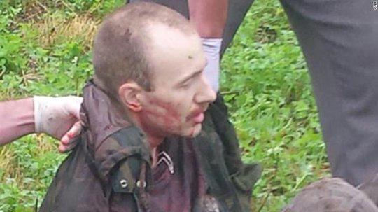 David Sweat bị cảnh sát bắn và bắt sống. Ảnh: CNN