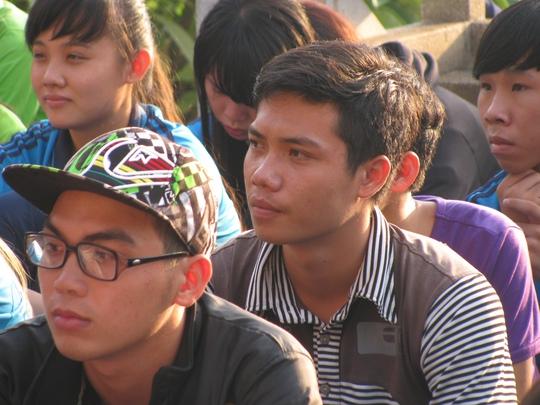 Thí sinh ở huyện đảo Phú Quý