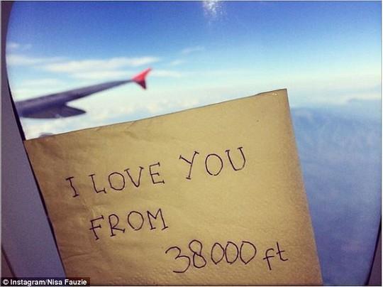 Thông điệp tình yêu... An3h: Instagram