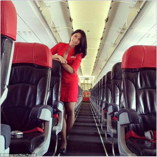 ...mà Nisa gửi cho bạn trai trước chuyến bay định mệnh QZ8501 2 tuần. Ảnh: Instagram