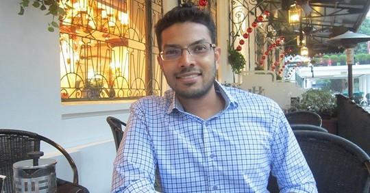 Ông Karun Arya, Giám đốc truyền thông khu vực Nam Á của Uber. Ảnh: BizLIVE