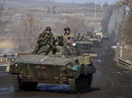 Chiến sự vẫn tiếp tục leo thang ở Đông Ukraine. Ảnh: Reuters