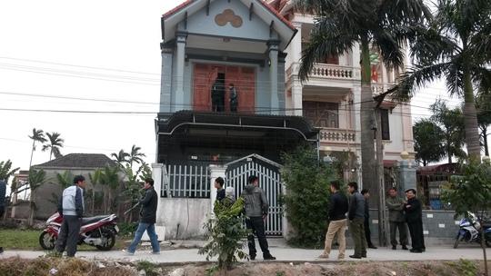 ngôi nhà xảy ra vụ án mạng kinh hoàng