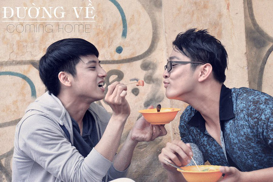 Diễn viên Kinh Lâm (trái) trong vai An