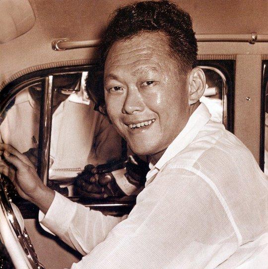 Ông Lý Quang Diệu. Ảnh: Straits Times