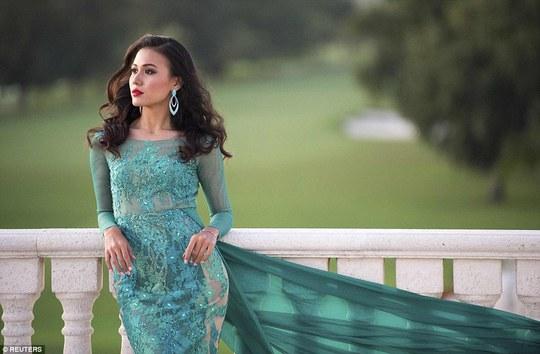 Ngắm vẻ đẹp của thí sinh Hoa hậu Hoàn vũ