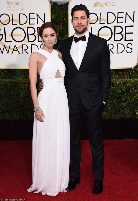 Emily Blunt và chồng