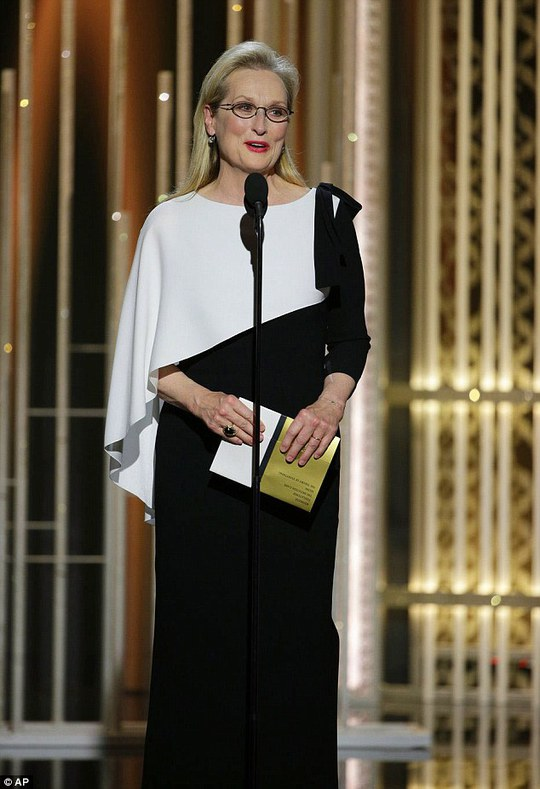 Nữ diễn viên gạo cội Meryl Streep