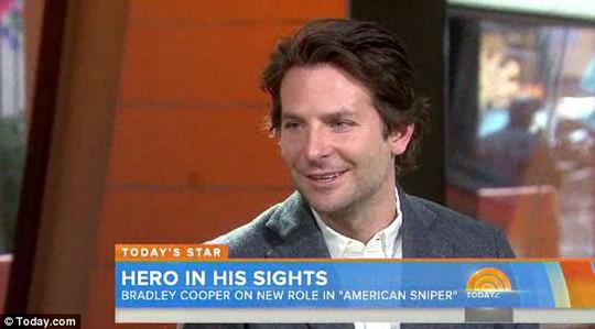 Anh nói về vai diễn trong American Sniper