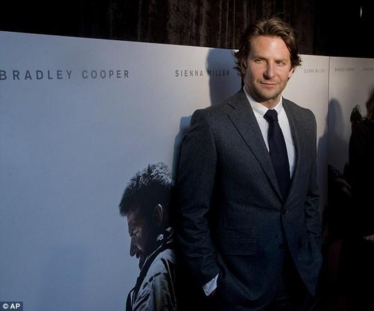 Bradley Cooper tham gia vô số phim