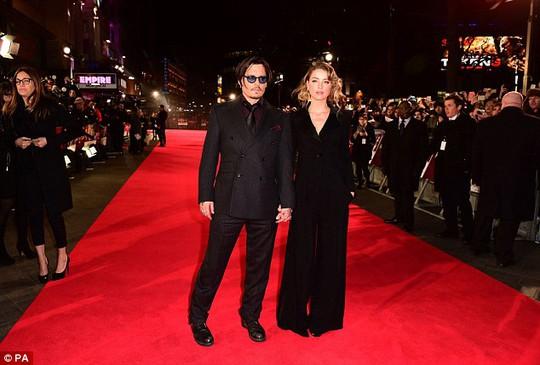 Johnny Depp và Amber