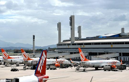 Hãng hàng không Gol đã chuyển hành khách sang chuyến bay khác. Ảnh: Alamy