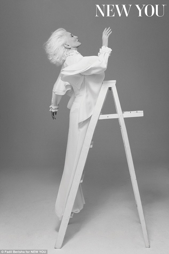 Carmen Dell'Orefice ở tuổi 83