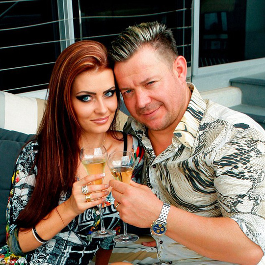 Maryna Kosukhina và doanh nhân Vitali Roesch thuở mặn nồng