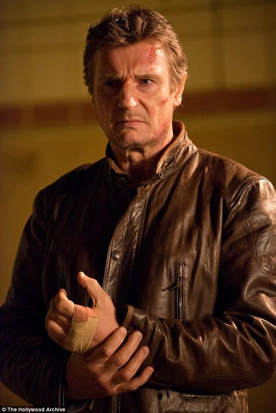 Liam Neeson đóng nhiều vai hành động trong thời gian gần đây