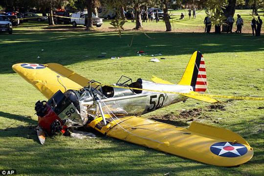 Hiện trường vụ tai nạn máy bay