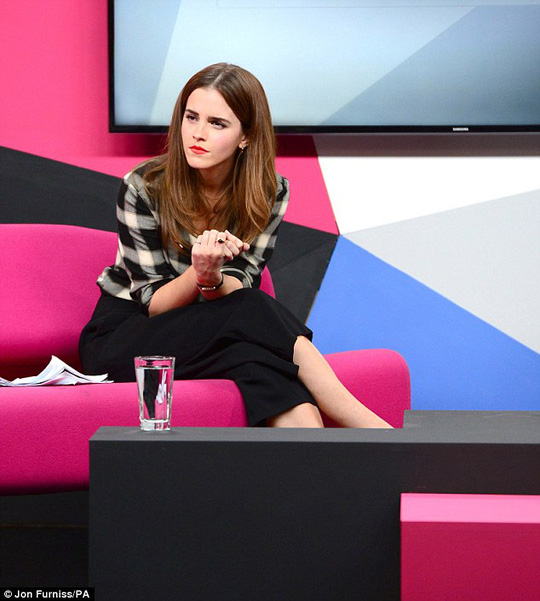 Emma trò chuyện về bình đẳng giới